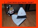 LOS QUEHACERES de Jorge
