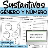 LOS SUSTANTIVOS GENERO Y NUMERO - SPANISH NOUNS - Distance