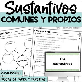 LOS SUSTANTIVOS - SPANISH NOUNS