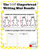 LOST Gingerbread Descriptive Writing Activity