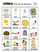 LOTERIA: Dia de los Muertos + 16 bonus pages of vocabulary words