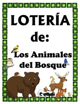 LOTERIA: Los Animales del Bosque