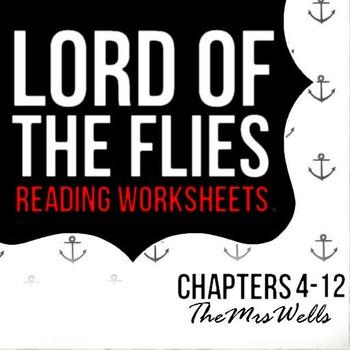 LOTF- Reading Worksheets (4-12)