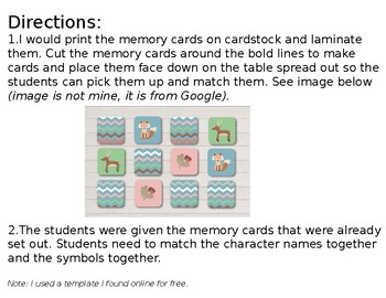 LOTF UNIT: Lord of the Flies Memory Cards (Powerpoint: EDITABLE)