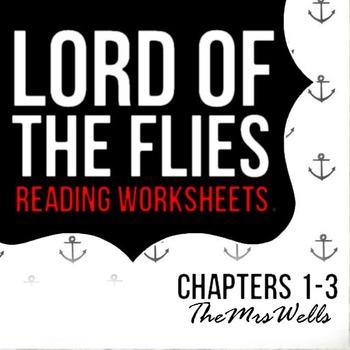 LOTF reading worksheets (1-3)