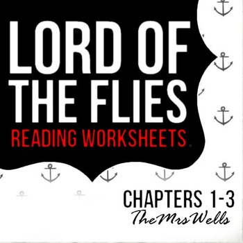 LOTF reading worksheets (1-3)