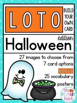 French Halloween Bingo LOTO jeux en français