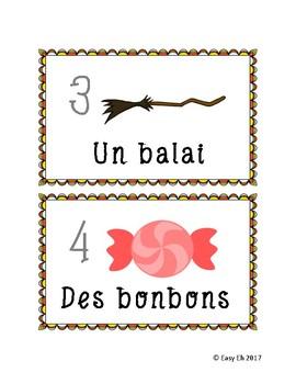 LOTO de l'halloween // Halloween French Bingo