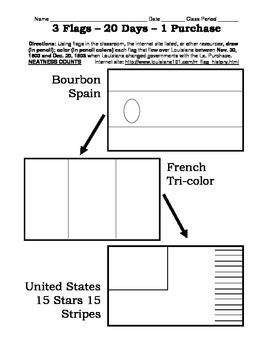 LOUISIANA - 3 flags in 20 days