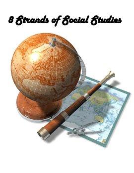 LOUISIANA - 8 Strands of Social Studies