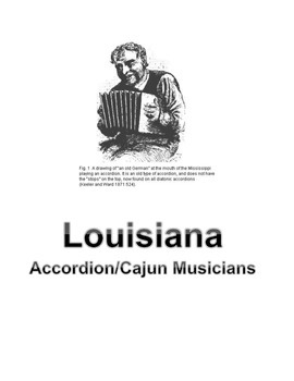 LOUISIANA - Accordion/Cajun Musicians
