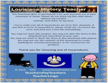 LOUISIANA - Advertise Louisiane/Luisiana/Louisiana