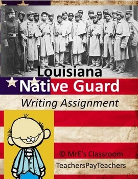 "LOUISIANA - African American Studies ""CW Native Guard"""