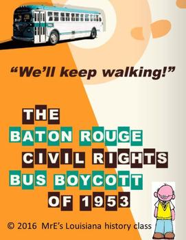 LOUISIANA  Baton Rouge Bus Boycott of 1953