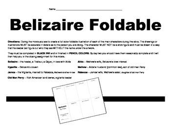 LOUISIANA - Belizaire The Cajun (Movie Activity)