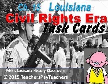 LOUISIANA - Ch. 15 Civil Rights Era