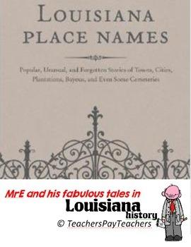 LOUISIANA - Ch. 2 Place Names