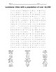 LOUISIANA  Cities of 10,000 or more puzzle/word search
