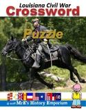 LOUISIANA Civil War Era Crossword Puzzle