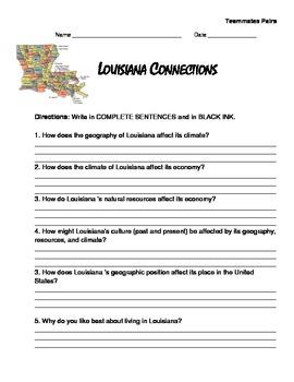 LOUISIANA - Connections