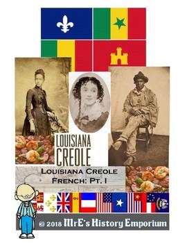 LOUISIANA Creole Bellringers activity
