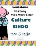 LOUISIANA - Culture-Festivals-Families BINGO