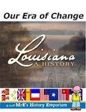 LOUISIANA - Era of Changes 1890s to 1920s