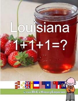 LOUISIANA FREE One + One + One =