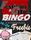 LOUISIANA - Festivals & Cities E/C Bingo Freebie