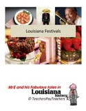 LOUISIANA - Festivals Map
