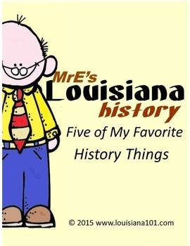LOUISIANA - Five of My Favorite