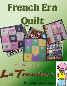 LOUISIANA - French Era Quilt Project