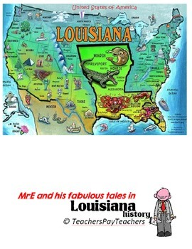 LOUISIANA - Geography Puzzle