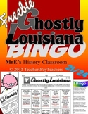 LOUISIANA - Ghostly State E/C Bingo