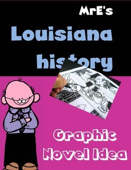 LOUISIANA - Graphic Novel Idea for Antebellum La.