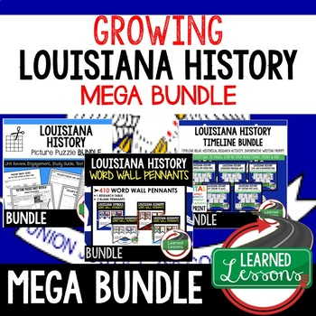 LOUISIANA HISTORY MEGA BUNDLE