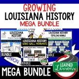 LOUISIANA HISTORY MEGA BUNDLE Louisiana History Curriculum