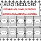 LOUISIANA HISTORY SOCIAL STUDIES BINDER COVERS, SPINES, DIVIDERS