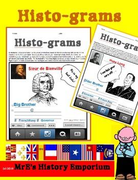 LOUISIANA Histo-Gram (in honor of my grand-daughter)