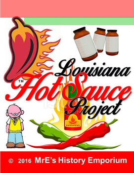 LOUISIANA  Hot Sauce Project