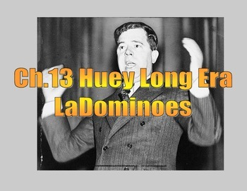 LOUISIANA - Huey Long LaDominoes