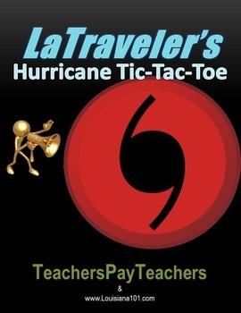 LOUISIANA - Hurricane Tic-Tac-Teaux