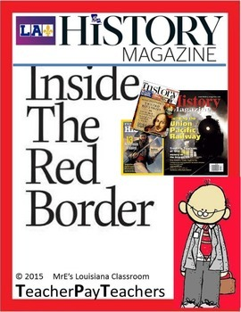 LOUISIANA - Inside the Red Border Magazine Cover Project