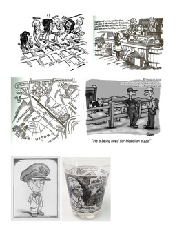 LOUISIANA - John Chase Cartoons/Worksheet