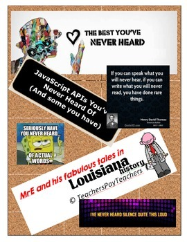 LOUISIANA - Just What Do You Know?