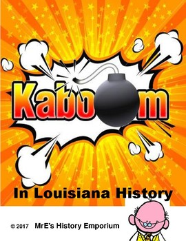 LOUISIANA  --KABOOM--game
