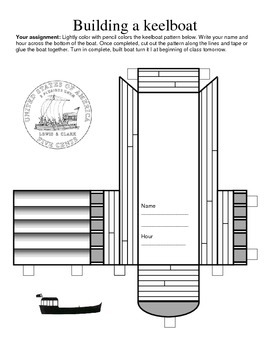 LOUISIANA- Keelboat