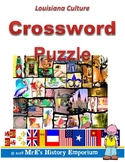 LOUISIANA  Louisiana Culture Crossword Puzzle