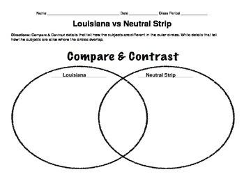 LOUISIANA - Louisiana & The Neutral Strip