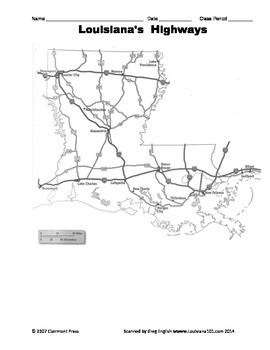 LOUISIANA - Maps, Maps, Maps